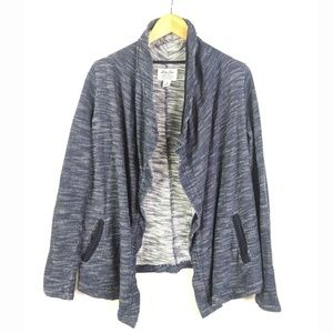 Lucky Brand Open Front Cardigan Sweater Womens S
